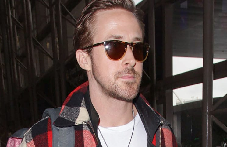 Ryan Gosling Sighted at LAX Airport on January 9, 2017