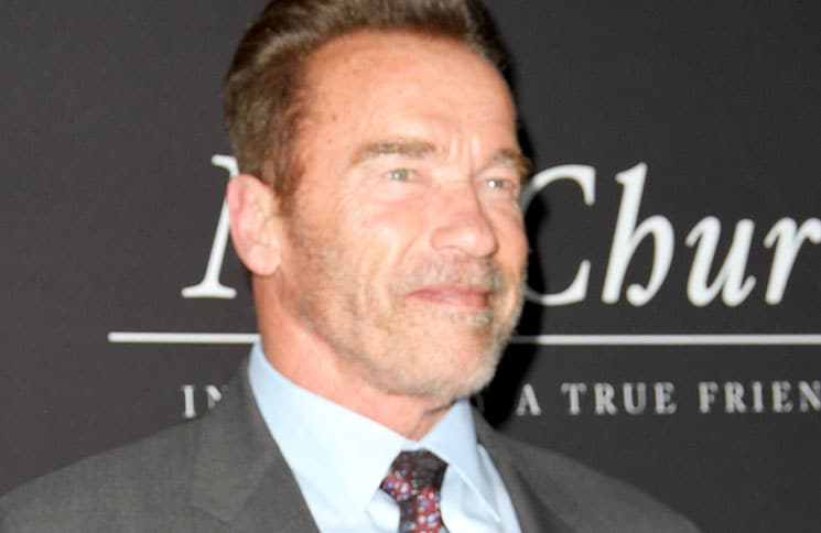 "Arnold Schwarzenegger - ""Mr. Church"" Los Angeles Premiere"