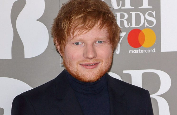 Ed Sheeran - BRIT Awards 2017