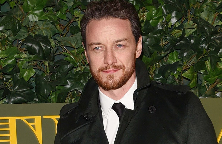 James McAvoy - 62nd Annual London Evening Standard Theatre Awards