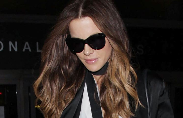 Kate Beckinsale Sighted at LAX Airport on December 10, 2016