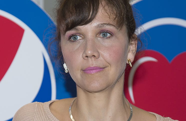 """Maggie Gyllenhaal - """"Love: From Cave to Keyboard, Imagined by Pepsi"""" Exhibition Opening"""