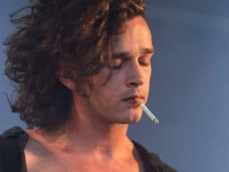 Matt Healy - The 1975 - Optimus Alive 2014 Music Festival