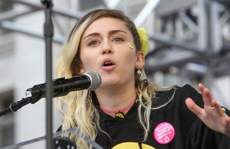 Miley Cyrus - Women's March Los Angeles