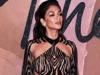 Nicole Scherzinger - The Fashion Awards 2016