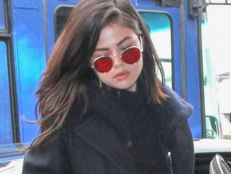 Selena Gomez Sighted at LAX Airport on February 7, 2017