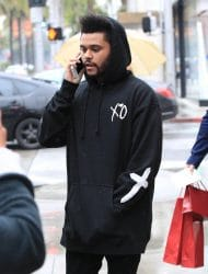 The Weeknd Sighted in Los Angeles on February 10, 2017