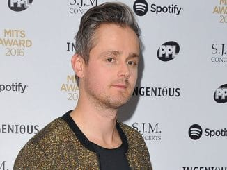 Tom Chaplin - 25th Music Industry Trusts Awards