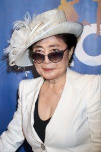 "Yoko Ono - 10th Anniversary Celebration of ""The Beatles LOVE by Cirque du Soleil"" at the Mirage in Las Vegas"