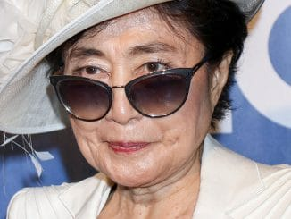 """Yoko Ono - 10th Anniversary Celebration of """"The Beatles LOVE by Cirque du Soleil"""" at the Mirage in Las Vegas"""