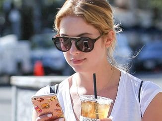 Ashley Benson Sighted in Los Angeles on February 9, 2016
