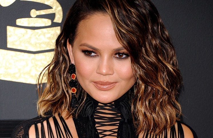 Chrissy Teigen - 59th GRAMMY Awards