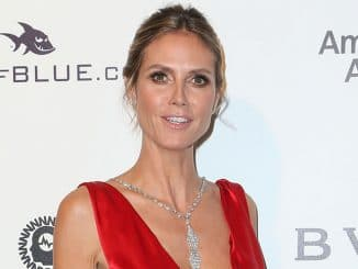 Heidi Klum - 25th Annual Elton John AIDS Foundation's Academy Awards Viewing Party