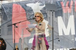 Jane Fonda - Women's March Los Angeles