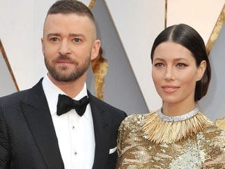 Jessica Biel and Justin Timberlake - 89th Annual Academy Awards