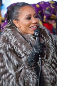 """Melanie Brown - """"Dick Clark's New Year's Rockin' Eve 17 with Ryan Seacrest"""" in Times Square"""