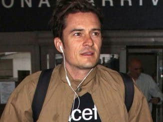 Orlando Bloom Sighted at LAX Airport on February 21, 2017