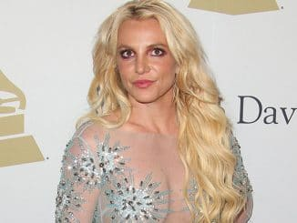 Britney Spears - 59th Annual Grammy Awards
