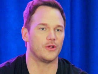 "Chris Pratt - ""Guardians of the Galaxy Vol.2"" Los Angeles Press Conference"