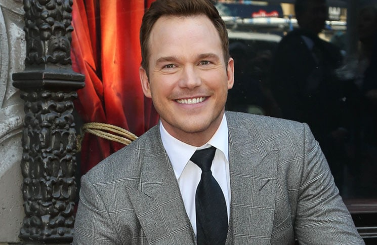 Chris Pratt Honored with a Star on the Hollywood Walk of Fame