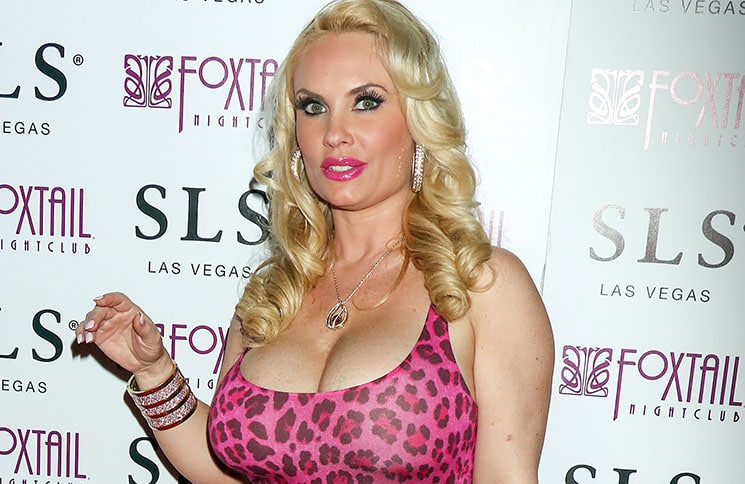 Coco Austin's Birthday Party at Foxtail Nightclub in Las Vegas on March 26, 2016