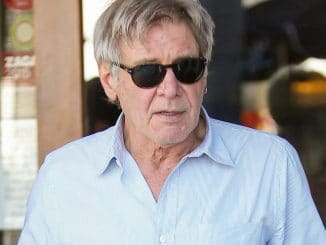 Harrison Ford Sighted in Los Angeles on January 25, 2016