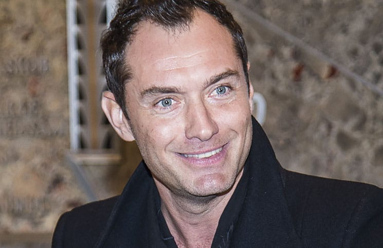 "Jude Law Lights the Empire State Building in Honor of ""Only Make Believe"""