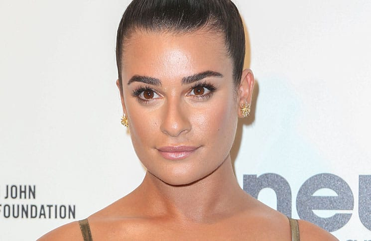 Lea Michele - 25th Annual Elton John AIDS Foundation's Academy Awards Viewing Party