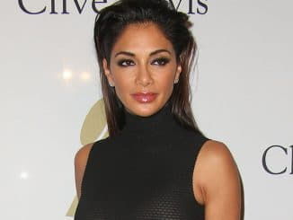 Nicole Scherzinger - 59th Annual Grammy Awards