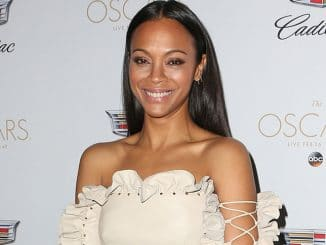 Zoe Saldana - Cadillac Celebrates the 89th Annual Academy Awards