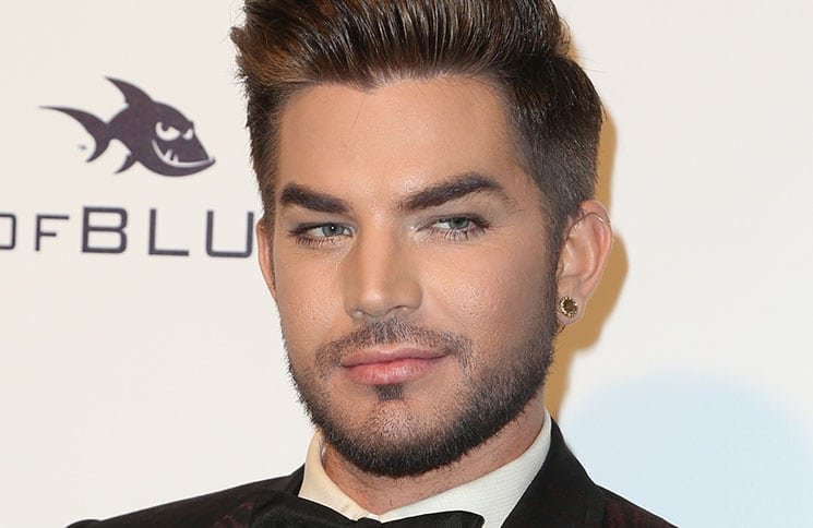 Adam Lambert - 25th Annual Elton John AIDS Foundation's Academy Awards Viewing Party - 2
