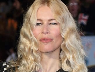 "Claudia Schiffer - ""Eddie the Eagle"" European Premiere"