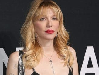 Courtney Love - Saint Laurent at the Palladium