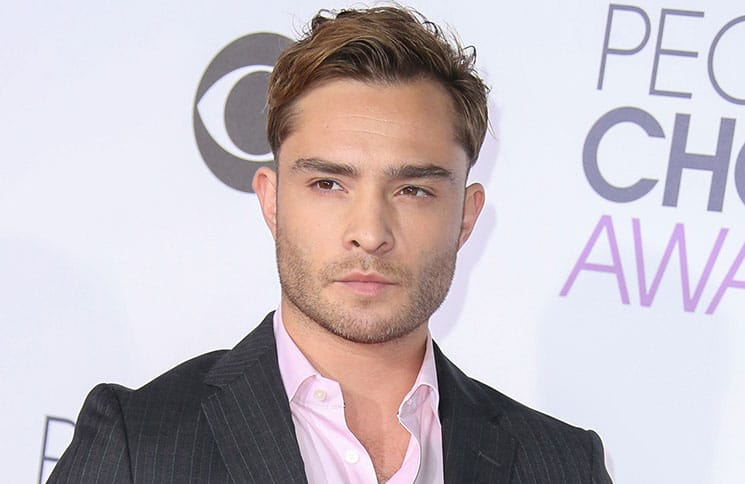 Ed Westwick - People's Choice Awards 2016