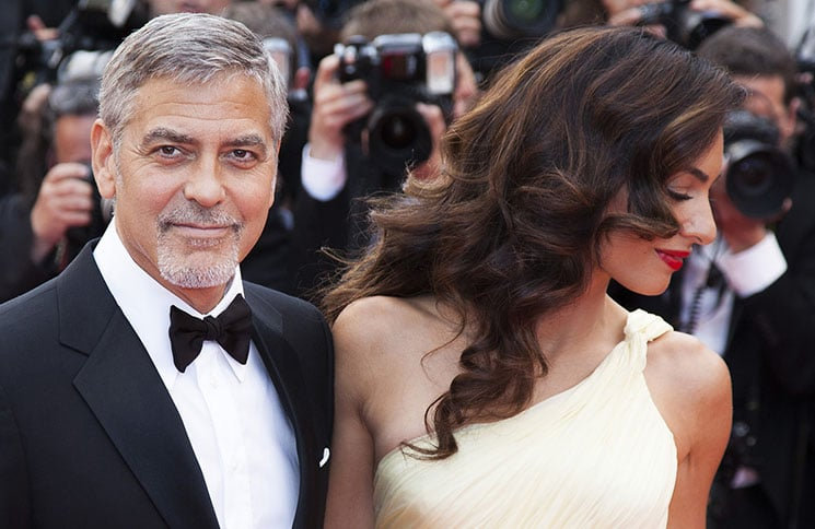 George Clooney and his wife Amal Clooney - 69th Annual Cannes Film Festival