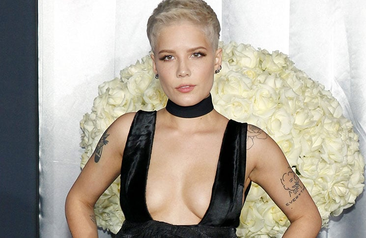 "Halsey - ""Fifty Shades Darker"" Los Angeles Premiere"