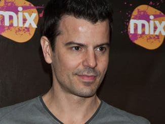 Jordan Knight Visits Mix 106.1 WISX's Xfinity Performance Theatre in Bala Cynwyd on June 01, 2011