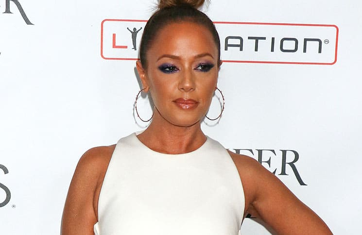 """Leah Remini - """"Jennifer Lopez: All I Have"""" Headlining Residency Pre-Show at Planet Hollywood Las Vegas - 2"""
