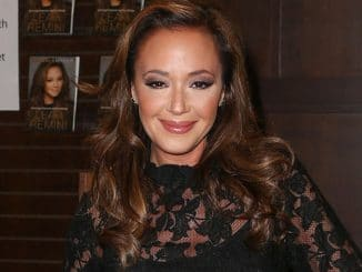 "Leah Remini's ""Troublemaker: Surviving Hollywood and Scientology"" Book Signing at Barnes & Noble in Los Angeles on December 8, 2015"