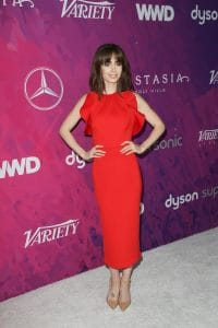 Lily Collins - Variety and WWD Host 2nd Annual StyleMakers Awards