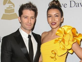 Matthew Morrison, Renee Puente - 59th Annual Grammy Awards