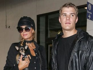 Paris Hilton and Chris Zylka Sighted at LAX Airport on February 19, 2017