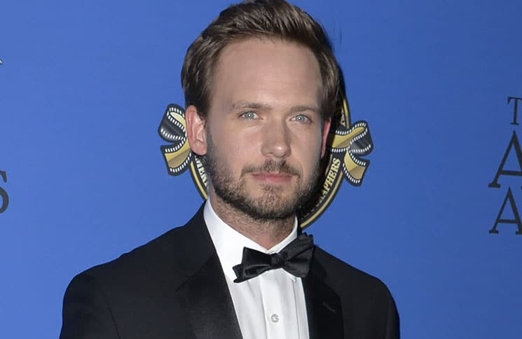 Patrick J. Adams - 31st Annual American Society of Cinematographers Awards at the Ray Dolby Ballroom in Hollywood