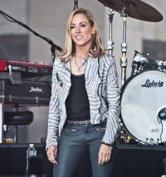 """Sheryl Crow in Concert on NBC's """"Today"""" Show at Rockefeller Plaza in New York City - April 19, 2017"""