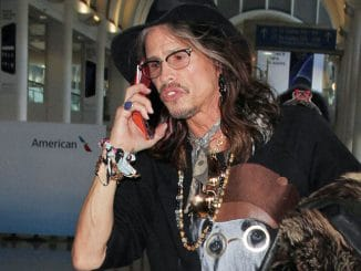 Steven Tyler Sighted at LAX Airport on February 14, 2017