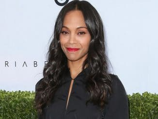 Zoe Saldana - Victoria Beckham for Target Launch Event - Private Residence
