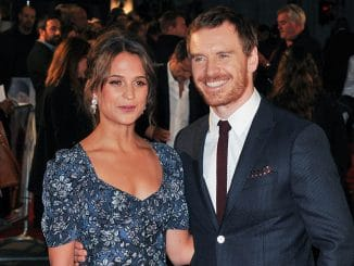 "Alicia Vikander and Michael Fassbender - ""The Light Between Oceans"" UK Premiere"