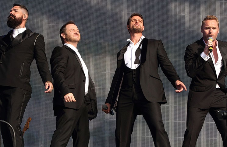 Boyzone - British Summer Time Festival 2014 at Hyde Park in London