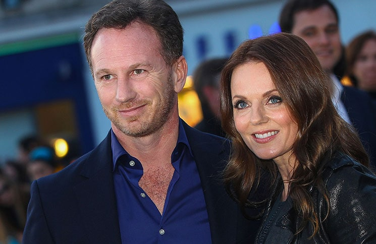 "Christian Horner and Geri Horner - ""The Rolling Stones: Exhibitionism"" Opening Night Gala Private View"