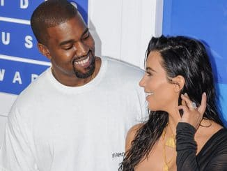 Kim Kardashian West, Kanye West - 2016 MTV Video Music Awards - 2